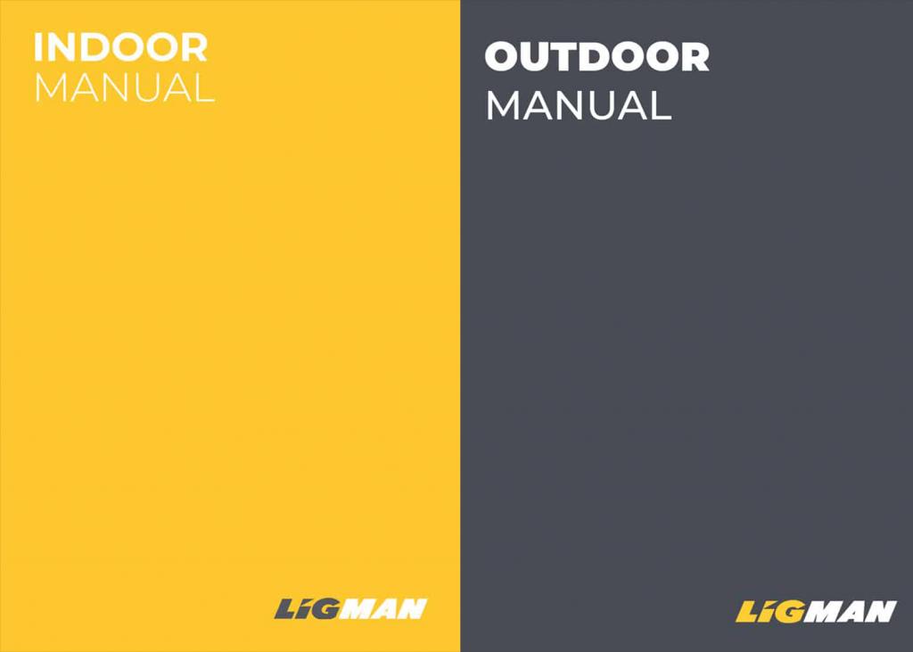 LIGMAN Indoor and Outdoor Manuals
